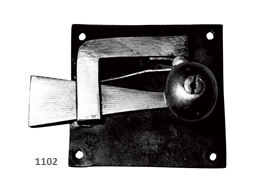 Square-plate spring latch.